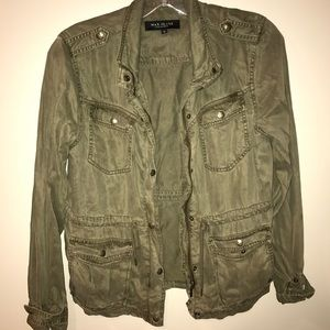 Green Jacket max jeans
